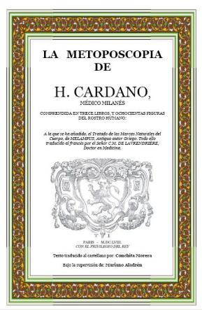 La Metoposcopia de H. Cardano