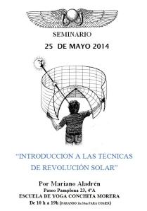 cartel seminario revolucion solar 2014