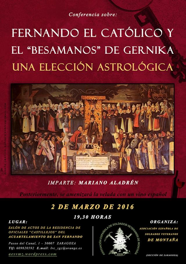 Cartel Astrología Besamanos web