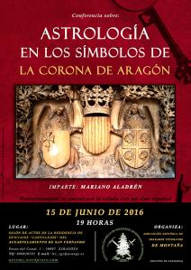 Cartel-Astrología-Clásica-Culta-Mariano-Aladrén-Símbolos-en-la-Corona-de-Aragón
