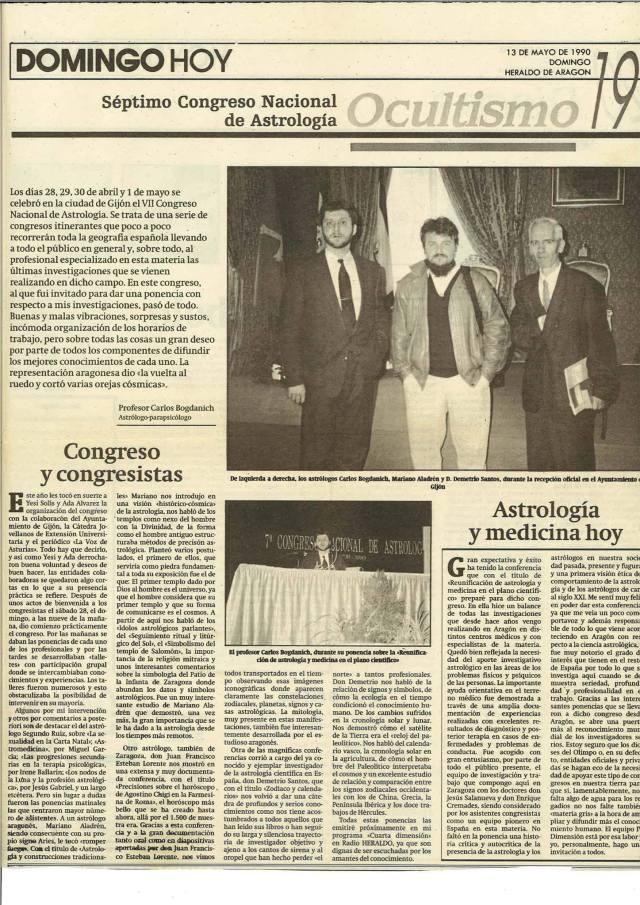 7 congreso de astrologia iberica Mariano Aladrén